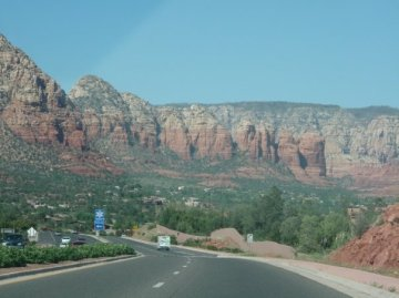 Sedona from he south